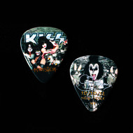 KISS Guitar Pick - Monster New York, 10/11/2012, Gene, (version 1, small portrait)
