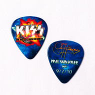 KISS Guitar Pick - Hottest Show on Earth, Milwaukee 2010 Gene