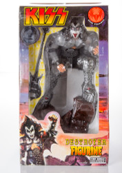 KISS Figure - Gene Simmons Destroyer Figurine Statue, (from Top Shelf), (8/10)
