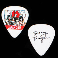 KISS Guitar Pick - Japan 2015, Tommy