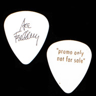 Ace Frehley Guitar Pick  - 12 Picks Promo, White