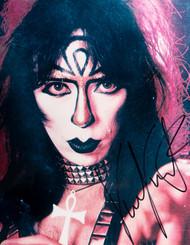 KISS Autograph - Vinnie Vincent, FL KISS Convention 1995