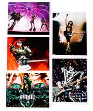 KISS Photos - Official KISS Monster Photos, (set of 5)