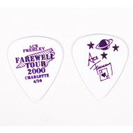 KISS Guitar Pick - Ace Frehley City Pick, Charlotte (white)