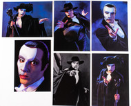Paul Stanley Phantom of the Opera - Postcards, (set of 6)