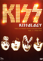 KISS DVD - KISSology, Volume 2, PHANTOM movie plus full CRAZY NIGHTS NYC SHOW, (Best Buy exclusive), (open)