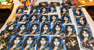 Vinnie Vincent Autograph - 8 x 10 Signed Photo, - BLACK MARKER