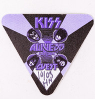 KISS Backstage Pass - Alive 35 2009 Guest Purple, cloth