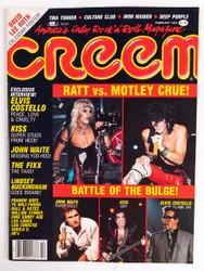 KISS Magazine - Creem, February 1985