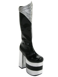 KISS Costume Boots - Peter Criss DESTROYER