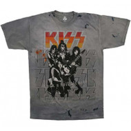 KISS T-Shirt - Rock and Roll all Nite TIE-DYE