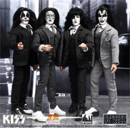 KISS Dressed to Kill Figures - Set of four 8""