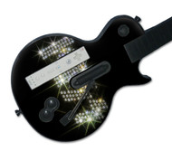 KISS  Guitar Hero Les Paul Wii Controller Music Skin - Logo
