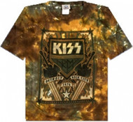 KISS T-Shirt - Detroit Rock City TIE-DYE (size M)
