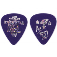 KISS Guitar Pick - Ace Frehley City Pick, Carbondale (purple)