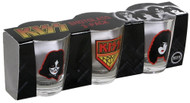 KISS Shotglasses - Set of 3