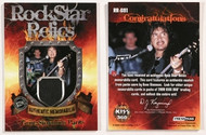 KISS 360 Trading Cards - Gene GS1 Relics Card non-numbered