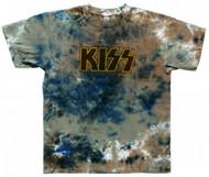 KISS T-Shirt - Logo TIE-DYE