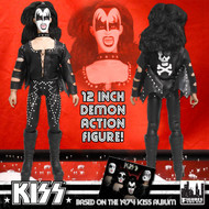 "KISS First Album 1973-Style Figures - 12"" Gene Simmons Figure"