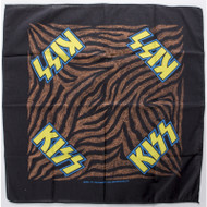 KISS Bandana - Animalize Tiger Stripe '85