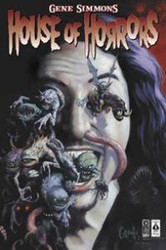 KISS Poster - Gene House of Horrors