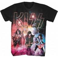 KISS T-Shirt - Live Fireworks