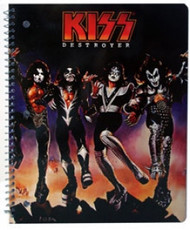 KISS Spiral Notebook - Destroyer
