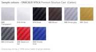 """Oracal 975CA Premium Structure Cast (Carbon) 60"""" x 50yds"""