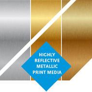 """Kernow MetaliK Inkjet High-Tack Printable Metallic Film 60"""" x 150ft"""