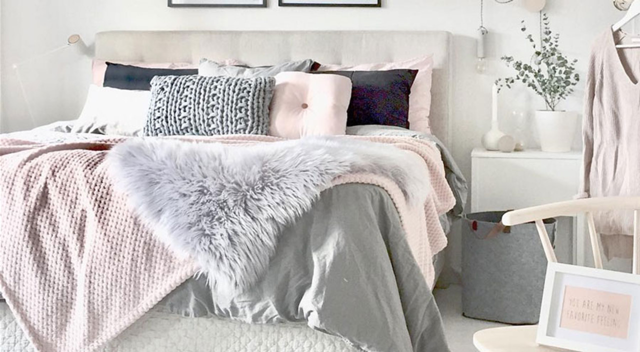 colors and tricks make the most of your luxury bedding