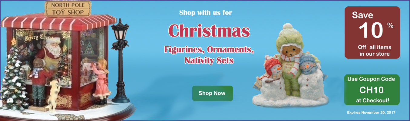 Christmas Ornaments, Figurines, Nativity Sets link