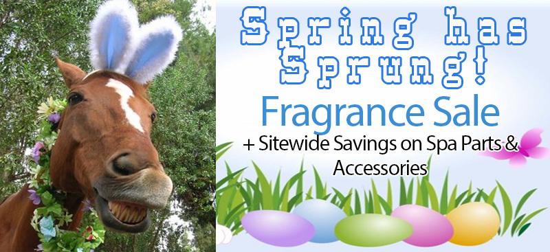 Spring hot tub fragrance sale for spas