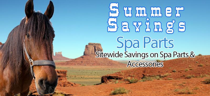 summer hot tub parts sale