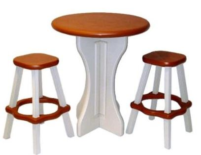 Barstool Table for 2 Outdoor