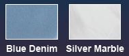Blue or White Spa Color Choice