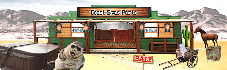 coast spa parts supplies