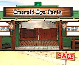 emerald spa parts sale