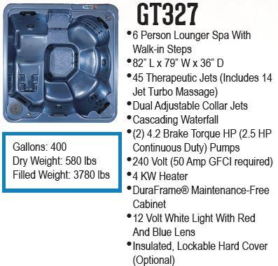 GT327 hot tub
