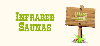 Infrared saunas on sale