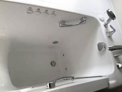 how to clean air jet tub
