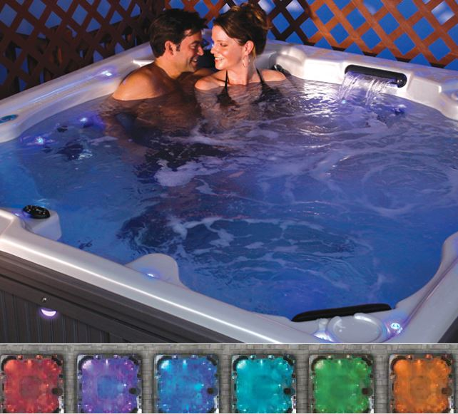 Hot tub LED light bulb Starburst