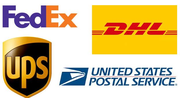 shipping dhl ups