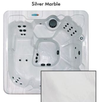 Silver Marble Color