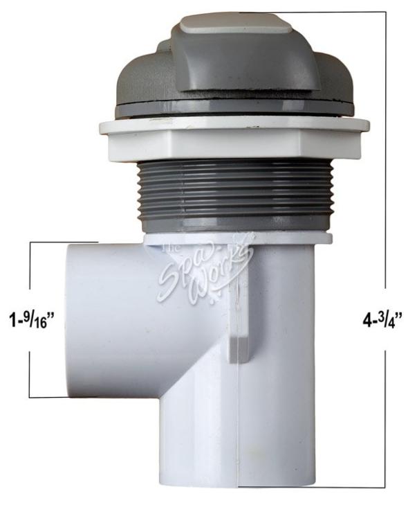 valve measurements 1 inch valve