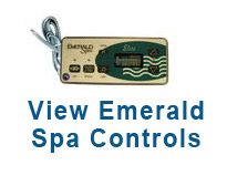 view emerald spa controls