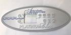 Artesian Spas 4 Pump Control Overlay OP11-0100-77 11-0100-77