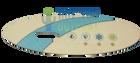 DreamMaker Spa Overlay 407016
