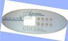 Artesian Gold Class 8 Button Control Panel Overlay