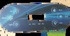 6 Button Balboa Overlay 11773 VL600 VL600S 1-Pump