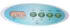 emerald spa control panel overlay 4 buttons